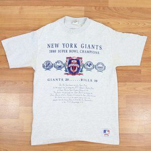 Vintage 1990 Superbowl Champs NY Giants